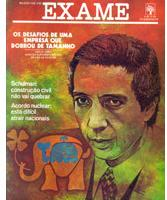 Na capa de 1976 a Revista Exame da destaque a Venda da Eletroradiobras para o Pão de Açúcar – fonte Google imagens